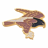HAWK  PIN ENAMELED