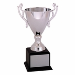 10-1/2 INCH RAMONA SERIES TROPHY WITH 7-1/2 INCH SILVER METAL CUP