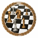CHESS PLAQUE MOUNT