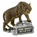 TIGER GROWLING MASCOT TROPHY WITHOUT PLATE