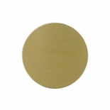 3 INCH SATIN BRASS DISC