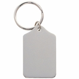 NICKEL PLATED KEY RING, BOXED