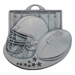 FOOTBALL MEDAL - MULTIPLE COLORS
