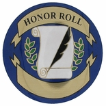HONOR ROLL, 2 INCH MYLAR INSERT