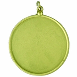 2-3/16 INCH MEDAL FRAME HOLDS 2 INCH INSERT  - MULTIPLE COLORS