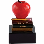 TEACHER RECOGNITION APPLE TROPHY WITHOUT PLATE
