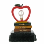 TEACHER RECOGNITION APPLE/BULB TROPHY WITHOUT PLATE