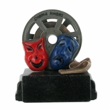 DRAMA AWARD TROPHY WITHOUT PLATE