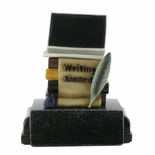 WRITING AWARD TROPHY WITHOUT PLATE