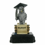 OWL GRADUATE TROPHY WITHOUT PLATE