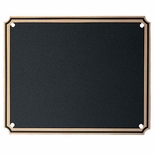 4-1/2 X 6 INCH BRASS SCREENED PLATE