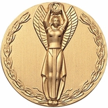 WINGED VICTORY FEMALE, 2 INCH STAMPED INSERT