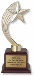 11 INCH GOLD RISING STAR TROPHY
