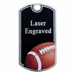 FOOTBALL DOG TAG