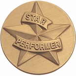 STAR PERFORMER, 2 INCH STAMPED INSERT