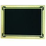 6X8 BLACK SCREENED PLATE