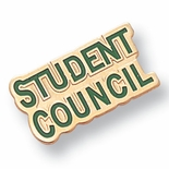 STUDENT COUNCIL PIN ENAMELED