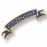 CITIZENSHIP PIN ENAMELED