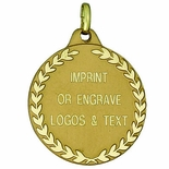 1-1/4 INCH DIE STRUCK MEDAL FOR ENGRAVING - MULTIPLE COLORS
