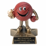 4 INCH BASKETBALL RESIN TROPHY