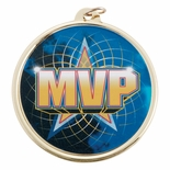 MVP MEDAL WITH 2 INCH MYLAR
