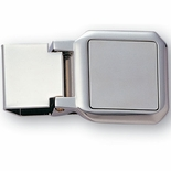 NICKEL PLATED MONEY CLIP BOXED