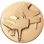 MUSIC PIANO, 2 INCH STAMPED INSERT