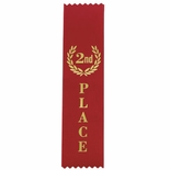 4TH PLACE YELLOW SATIN RIBBON