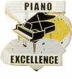 Music, Drama, Art Lapel Pins