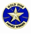 Academic Star Recognition Pins
