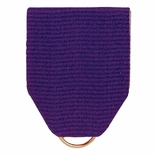 PIN BACK RIBBON PURPLE
