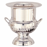 9 INCH WINE COOLER, SILVER