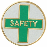 SAFETY, 2 INCH LITHO INSERT