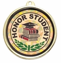TM-Series, 2-1/4 Inch Academic and Mascot Mylar Medals