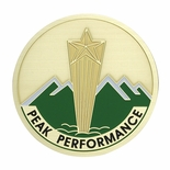 PEAK PERFORMANCE, 2 INCH ETCHED ENAMELED