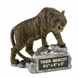 TIGER GROWLING MASCOT TROPHY