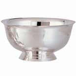 10 INCH REVERE BOWL, SILVER