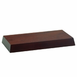 4-1/2 X 8-1/2 WALNUT FINISH BASE
