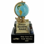 HONOR STUDENT AWARD SCHOLASTIC TROPHY, 5-3/4 INCH