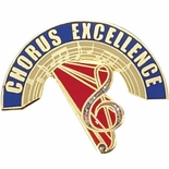 EXCELLENCE IN CHORUS PIN