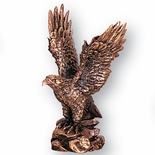 6-1/2 INCH ANTIQUE BRONZE EAGLE