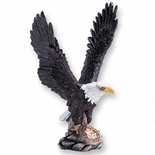 COLORED RESIN EAGLE, 12-1/2 INCH