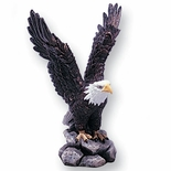 COLORED RESIN EAGLE, 6-1/2 INCH