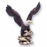 COLORED RESIN EAGLE, 8-1/2 INCH
