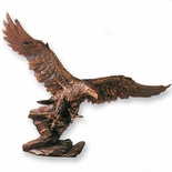13 X 16 INCH BRONZE EAGLE CAST