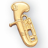 BARITONE PIN GOLD