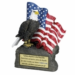 ALLEGIANCE EAGLE TROPHY WITH PLATE