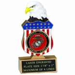EAGLE/SHIELD TROPHY HOLDS 2 INCH