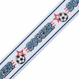 7/8X32 SOCCER NECK RIBBON