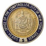 OFFICE OF THE COMPTROLLER CITY OF NEW YORK PIN